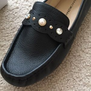 Isaac Mizrahi brand new leather and pearl